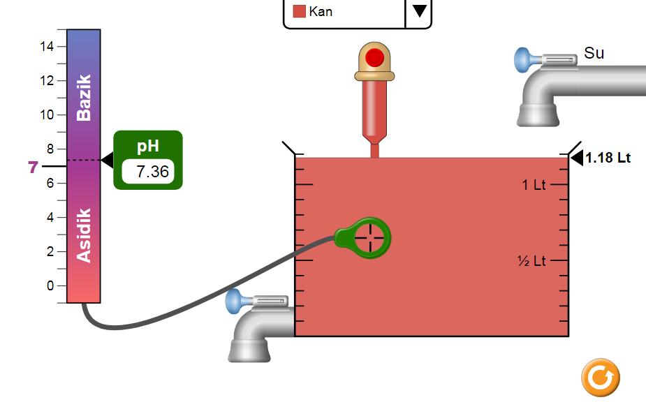 pH Değiştirme  Oyunu