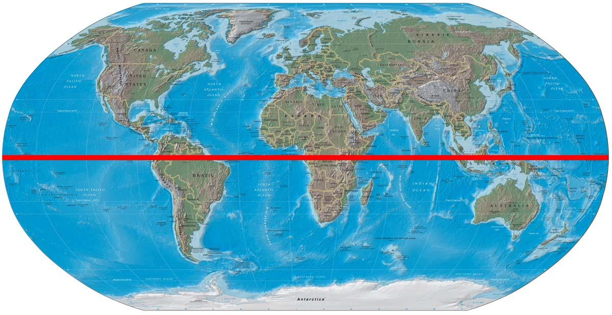 Ekvator çizgisi  ve Barış  Manço'nun  deneyi