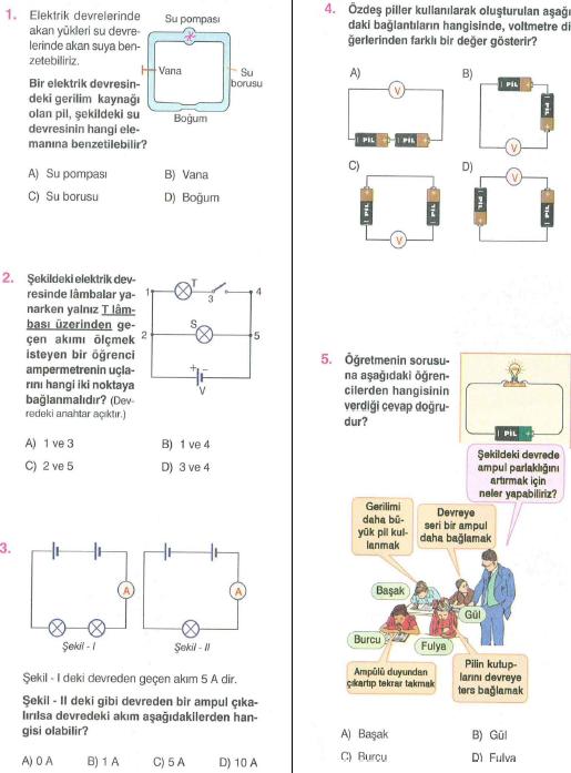 Ampullerin  Bağlanma Şekilleri Testleri
