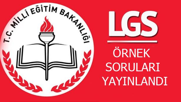 2018-2019 Nisan Ayı LGS Örnek Soruları